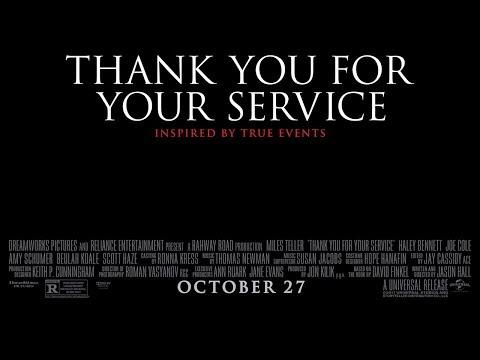 땡큐 포 유어 서비스 (Thank You for Your Service, 2017) 예고편