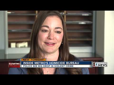 Inside Las Vegas Metropolitan Police Department's Homicide Bureau
