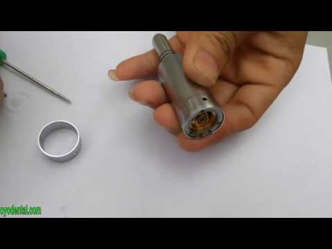 How to Disassemble the Low Speed Dental Handpiece
