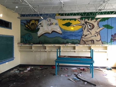 Abandoned Elementary School - No Child Left Behind