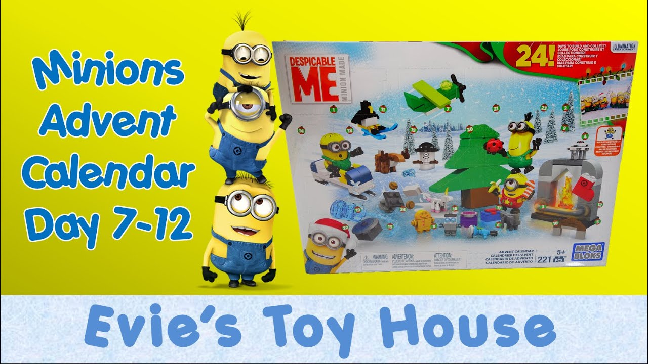 minions movie despicable me 2015 advent calendar by mega. Black Bedroom Furniture Sets. Home Design Ideas