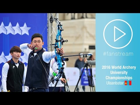 #FanStream: Korea v Russia – Compound Men Team's Gold Final | Ulaanbaatar 2016