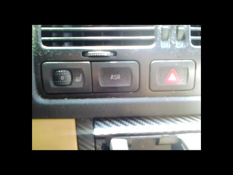 VW ASR Button (Are you in full control?)