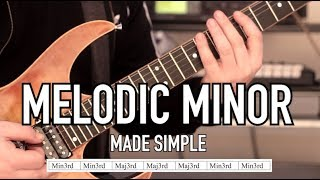 Simplifying The Melodic Minor Scale