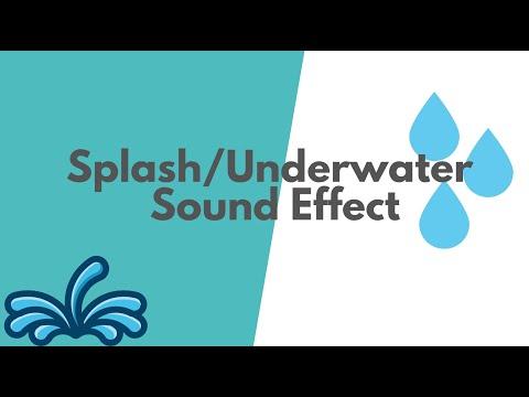 Splash/Underwater Sound Effect- A2 Media