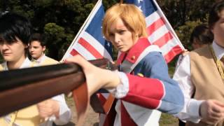 [Hetalia CMV] Radioactive (Revolutionary War)