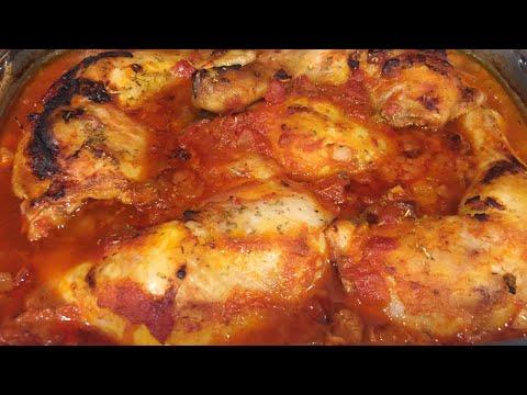 Chicken In Tomato Sauce
