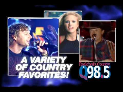 Rockford's Country Q98.5, WXXQ-FM