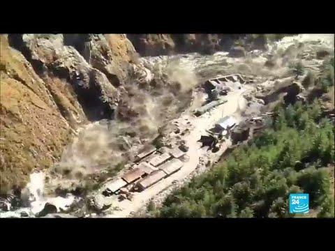 Rupture d'un glacier dans l'Himalaya : au moins 14 morts et plus de 170 disparus