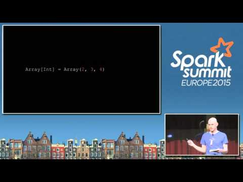 Making better news with Apache Spark