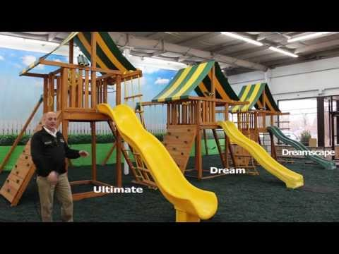 Comparing 3 Straight-Base Wooden Swing Sets
