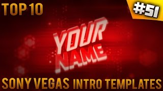 TOP 10 Sony Vegas intro templates #51 (Free download)