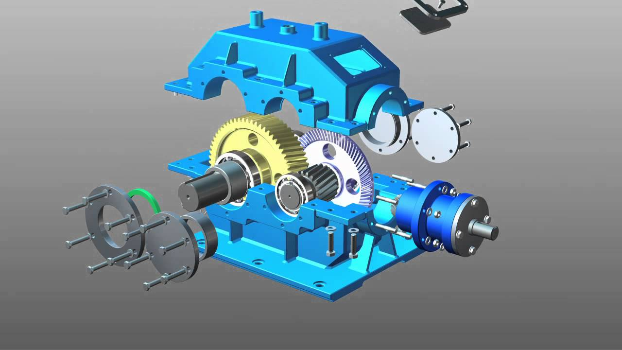 Speed reducer assembling autodesk inventor youtube ccuart Image collections
