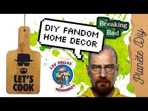 DIY Fandom - Heisenberg déco murale / wall art (Breaking Bad)   Home Decor français