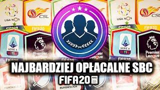 NAJBARDZIEJ OPŁACALNE SBC LIGOWE w FIFA 20