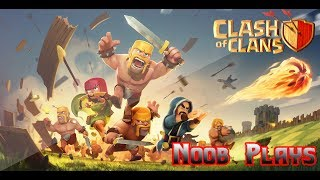 The First Battle of Clash of Clans - noob plays CoC episode 1