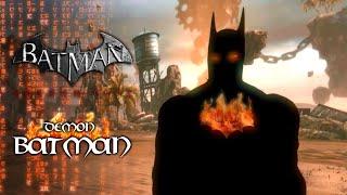 Batman Arkham City: Arkham Knight Demon Batman