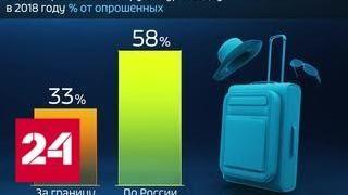 Россия в цифрах. Сколько планируют потратить на отпуск россияне - Россия 24