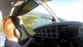 Flight over Harnett county NC