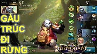 Liên Quân Mobile: Tướng mới Zuka - Panda đại sư đi rừng - Đừng đùa với anh gấu :)