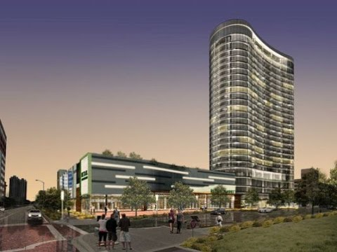 28-Story Apartment Tower Rising in Indianapolis