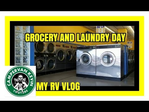 FULL TIME RV LIFE- GROCERY AND LAUNDRY DAY