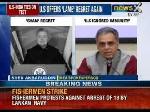 'Stripped' of dignity: Nancy Powell regrets wrong handling of Devyani case - NewsX