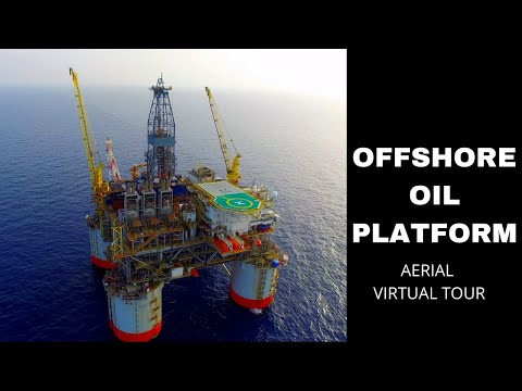 How America Get Its Oil: Gulf of Mexico Offshore Oil Rig Drone Video Tour