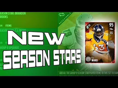 NEW SEASON STARS!! NEW BRANDON BROOKS AND TJ WARD!!!