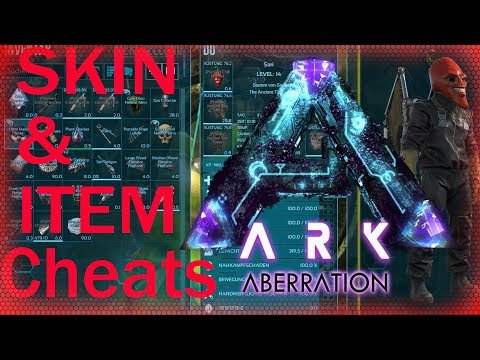 ARK Aberration Cheats PS4 - XOBX - PC Skin & Items Commands / 100% Short gfi cheats