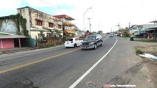 Walking Guyana Streets, Versailles to Vreed en Hoop, West Bank Demerara,  Guyana 4K