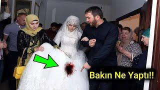 Bu Damat, Eşinin Bakire Olmadığını Öğrenince, Bakın Ne Yaptı!!