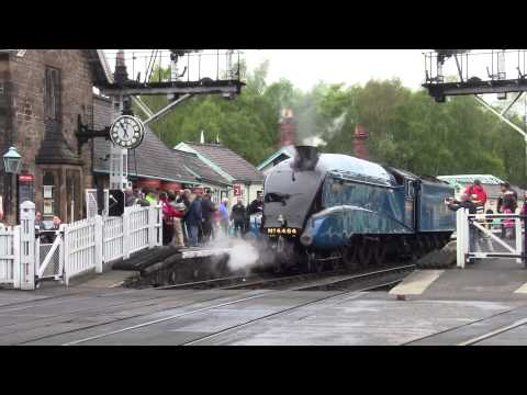 North Yorkshire Moors Railway - Spring Steam Gala 2014 - Grosmont Station