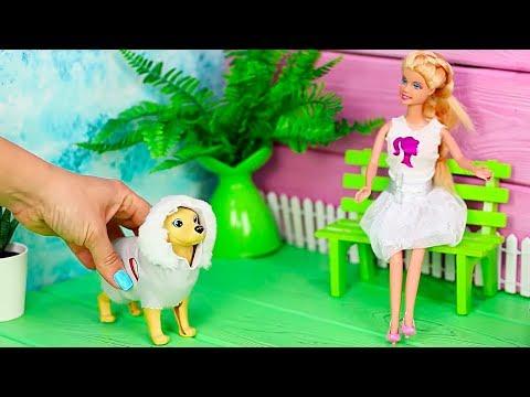 16 Verrückte Tricks Für Deine Barbie / Barbie Haustiere DIY Ideen