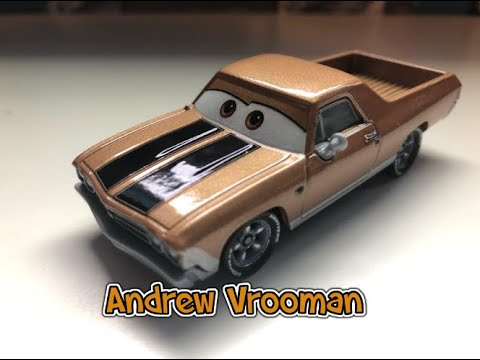 VOITURE DISNEY PIXAR CARS Andrew Vrooman