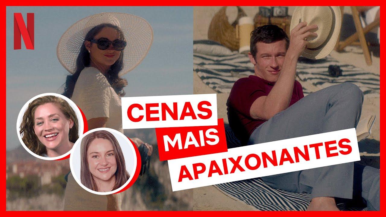 Abrindo o envelope de A Última Carta de Amor em Antes e Depois do Corte | Netflix Brasil