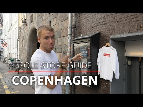 The 8 Best COPENHAGEN Sneaker & Streetwear Shops
