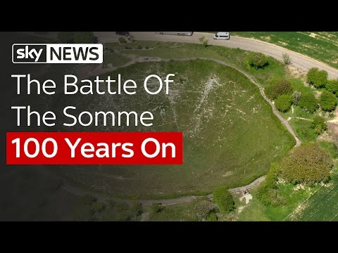 The Battle Of The Somme 100 Years On