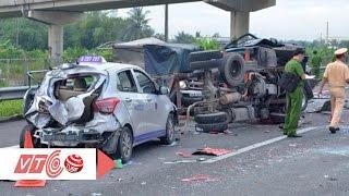 Cận cảnh 5 ô tô tan nát khi đâm liên hoàn | VTC