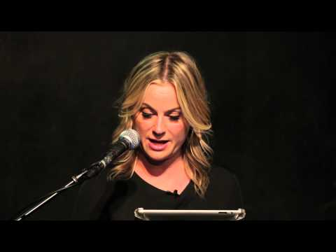 Amy Poehler Reads YES PLEASE Live at UCB LA, Video 1
