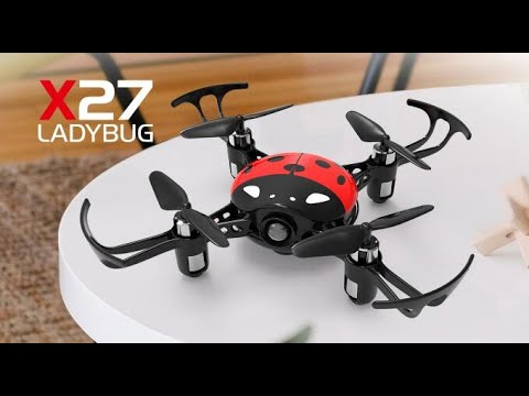 SYMA X27 Ladybug Drone Review It's Fantastic