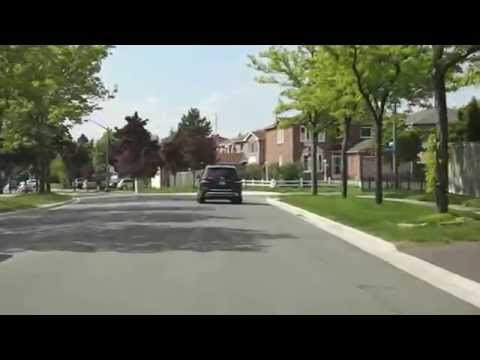Colonial Dr in Erin Mills West, Mississauga, Ontario