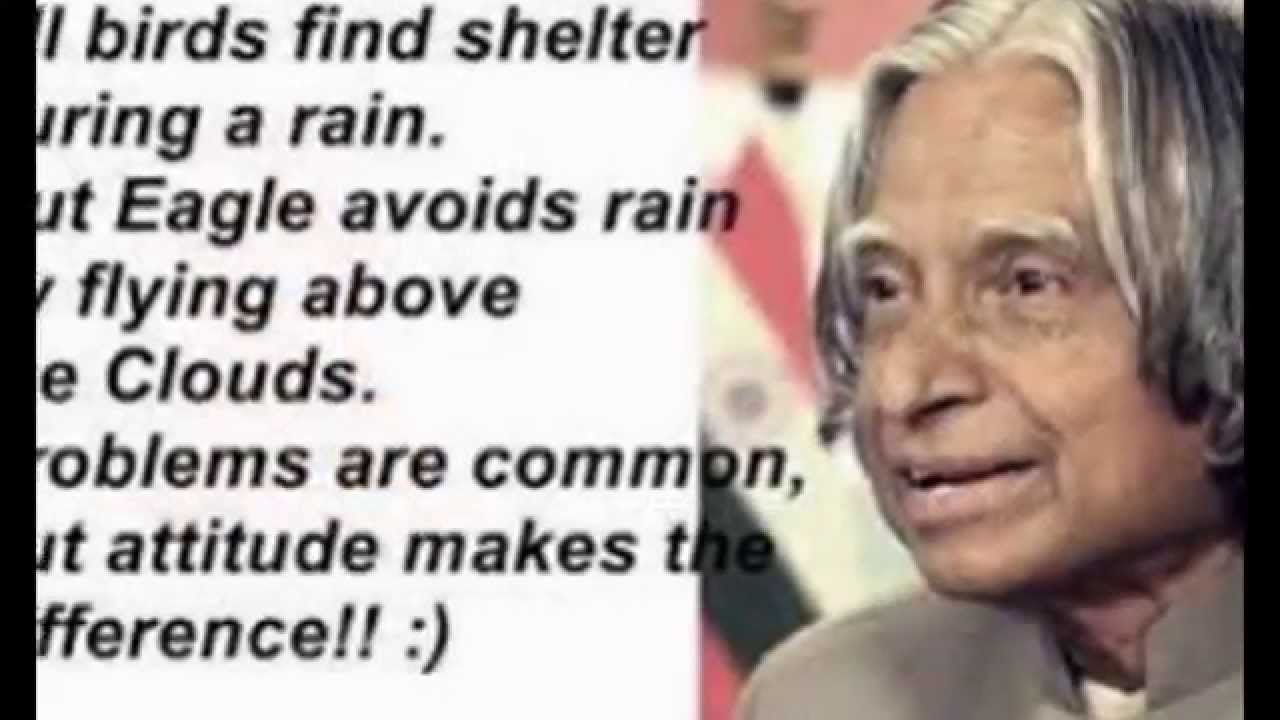 Apj Abdul Kalam Quotes And Life Documentary Youtube