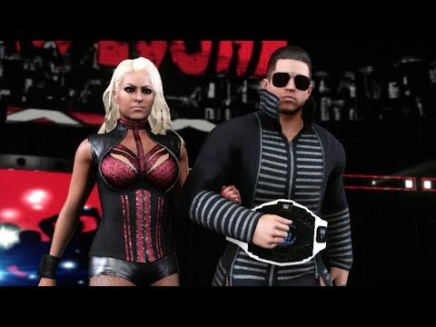 WWE 2K18 The Miz entrance video