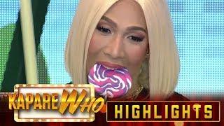 Vice tries out Jackie's lollipop | It's Showtime KapareWHO