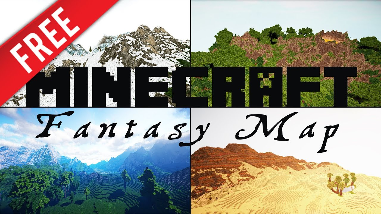 Minecraft epic fantasyrpg map download youtube gumiabroncs Choice Image