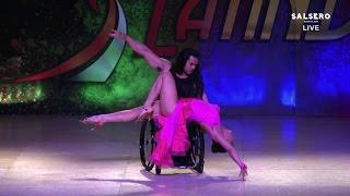 Marisa Hamamoto & Adelfo Cerame Jr, World Latin Dance Cup 2015 - Limitless Show - Wheelchair Dance