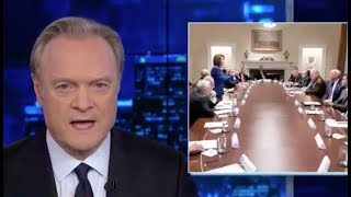 Lawrence O'Donnell goes viral with epic response to iconic Pelosi photo