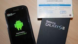 Galaxy S3 Root Kaldırma/Garantiye geri döndürme!/Get Your Warranty Back/Unroot