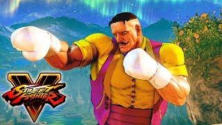 Street Fighter 5 - DUDLEY Gameplay PC Mod @ 1080p (60ᶠᵖˢ) HD ✔